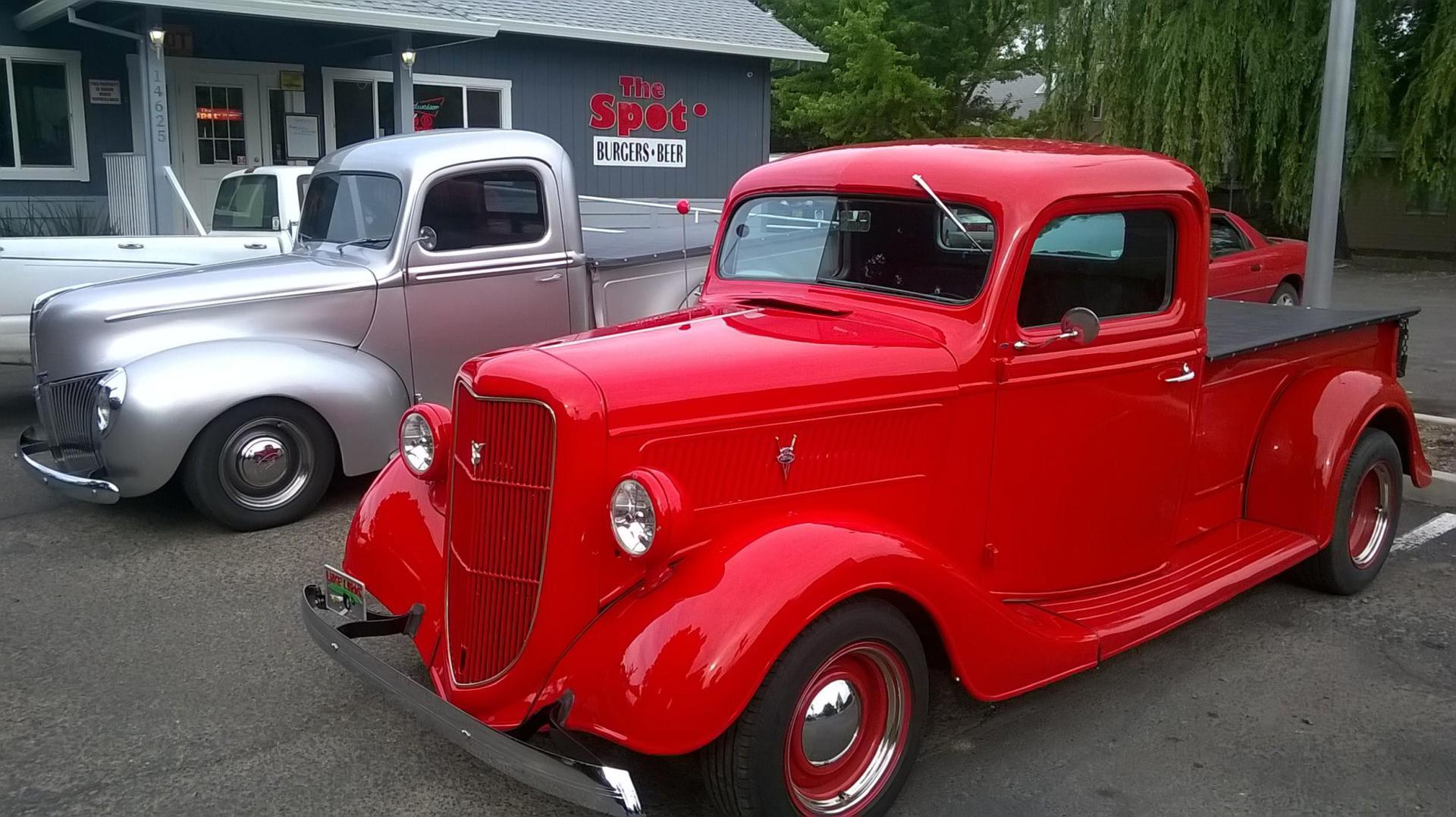 twin trucks