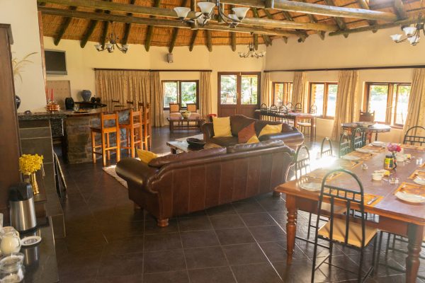 Main Lodge communal areas