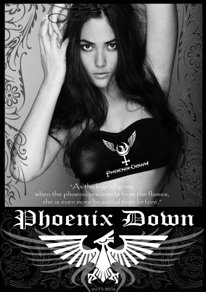 Phoenix Down Special T shirt Series design