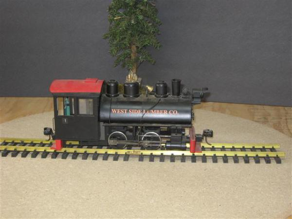 0 - 4 - 0 Tank Engine West Side Lumber #1
