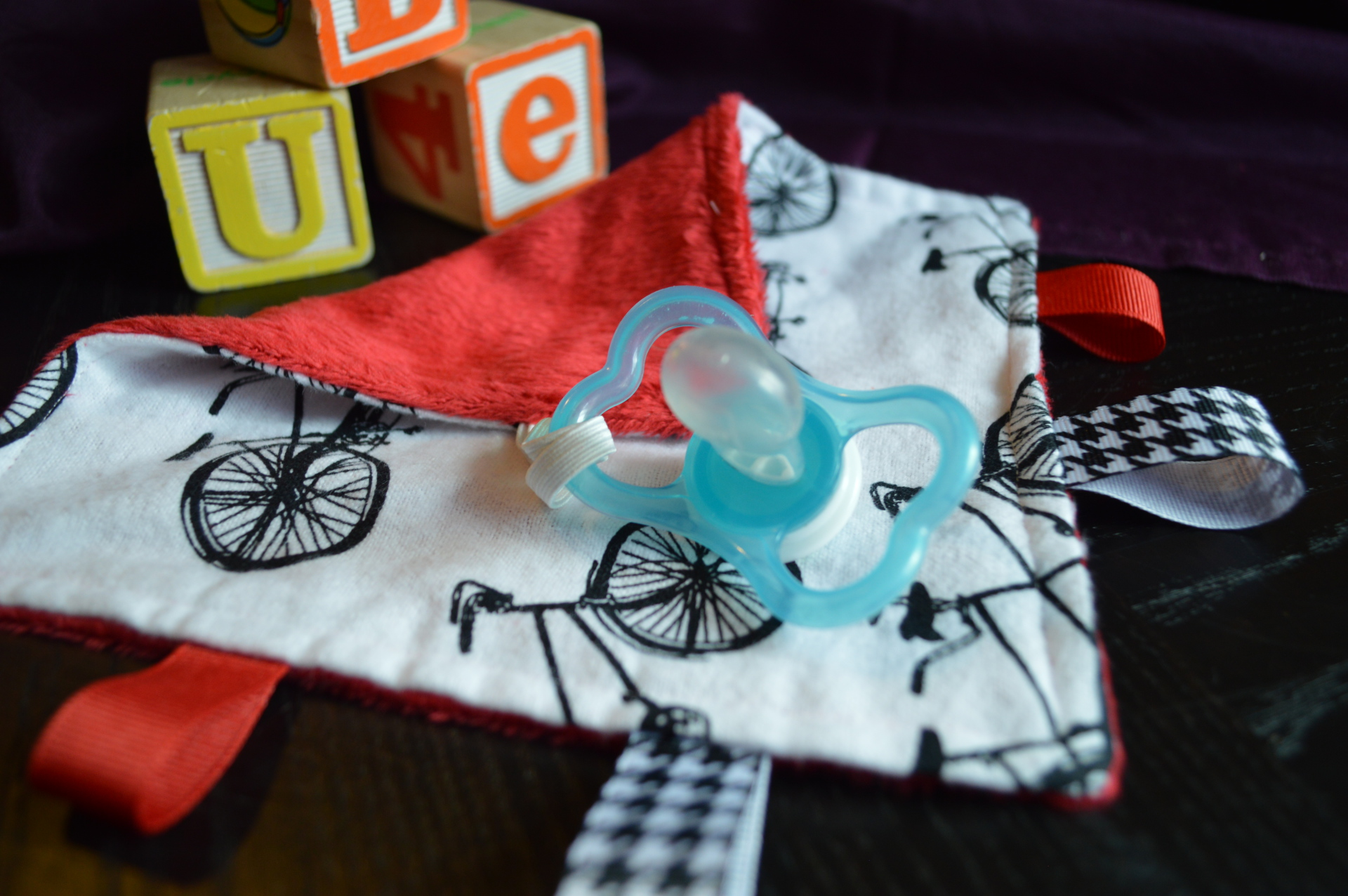 Bicycle Paci Taggie