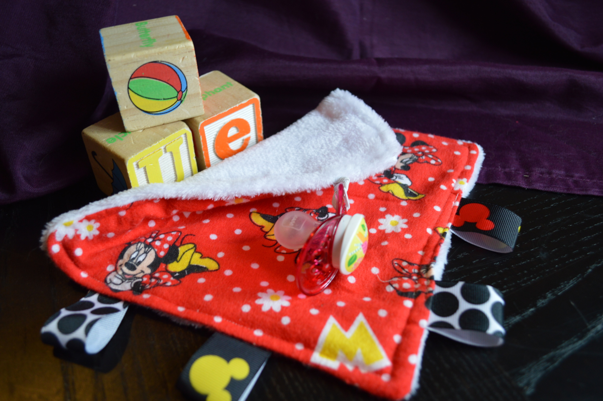 Mouse Paci Taggie