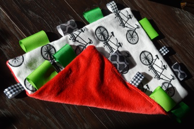 Bicycle & Red Minky