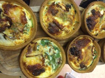 Fresh, Homemade Quiches
