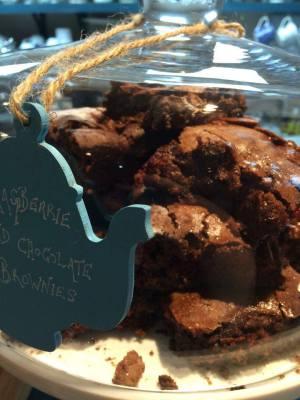 Chocolate and Raspberry Brownies