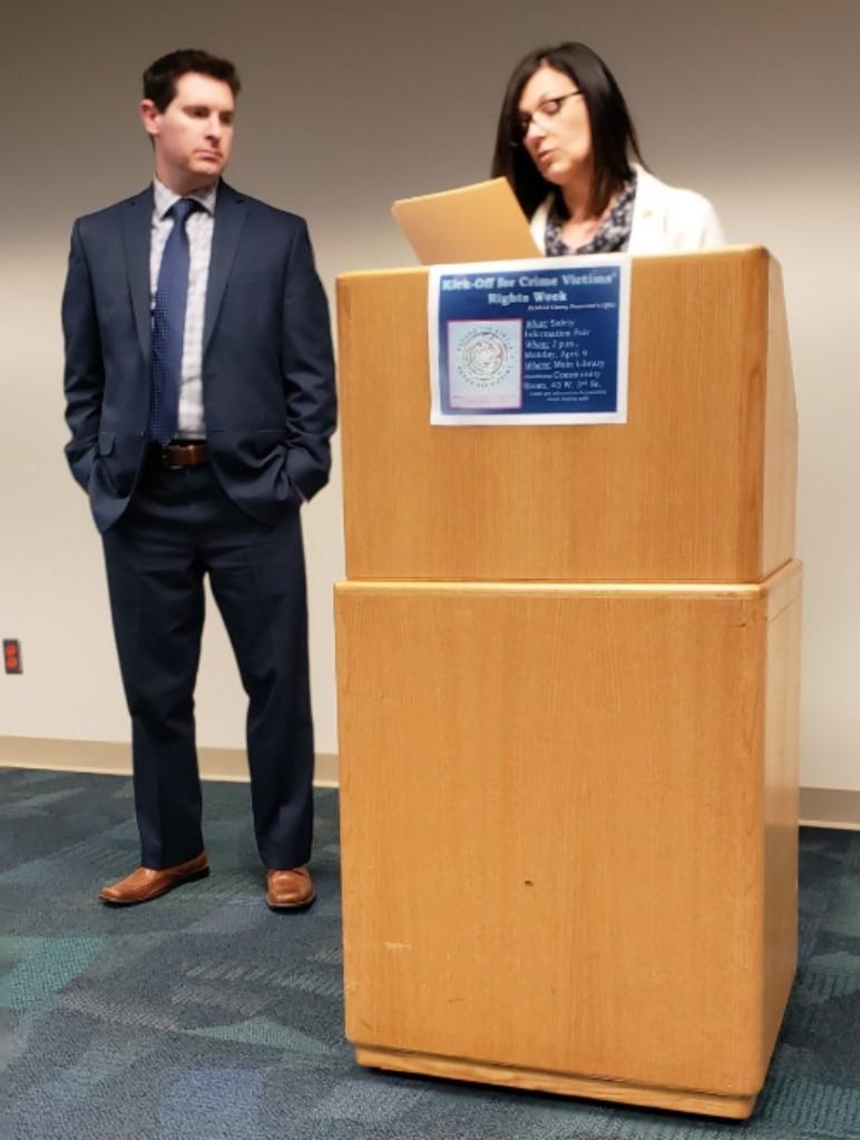 Commissioners Marilyn John & Tony Vero