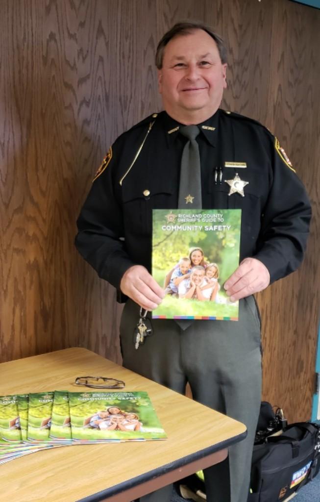 Steve Sheldon, Richland County Sheriff