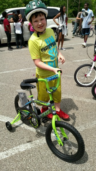 Bicycle Winner!