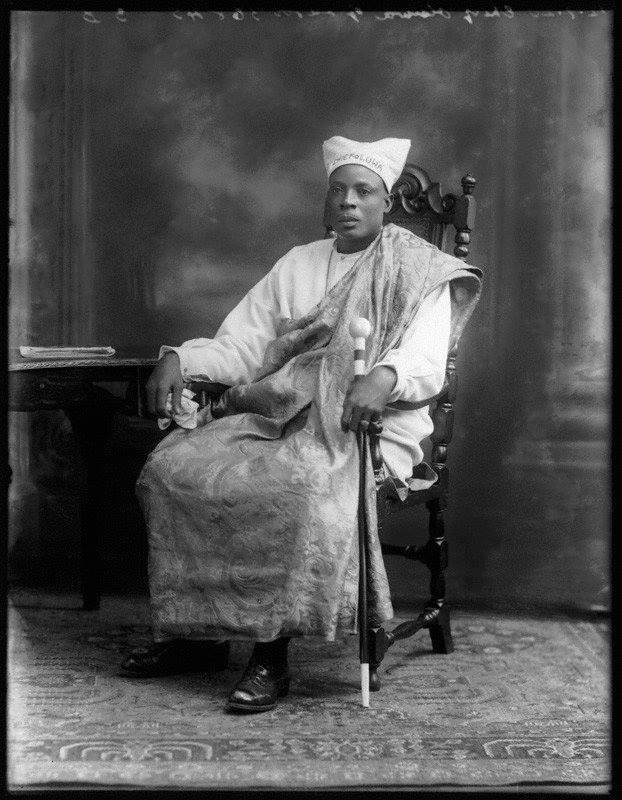 Amodu Tijani, King Oluwa of Lagos