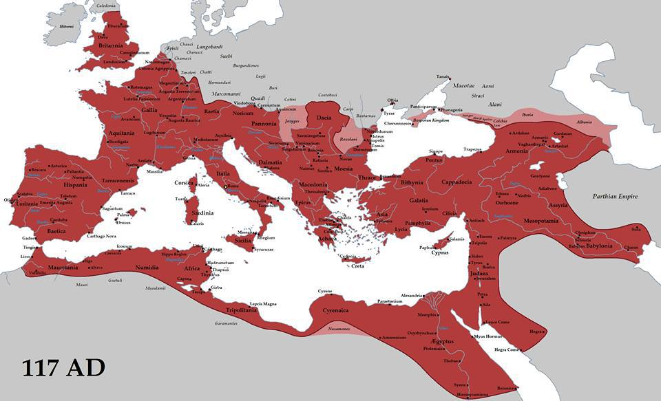 The Ancient Roman Empire Mythology.....