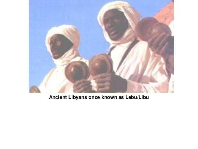 The Ancient Libyans, the Lebu/Libu, the Meshwesh ....