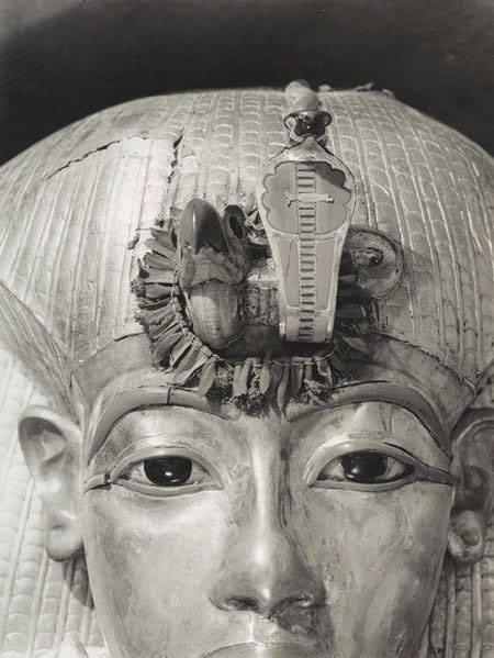 Detail of King Tutankhamen's(King Tut) Outermost Coffin....