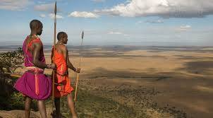 Engai Narok.....Supreme God of the Maasai