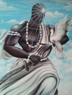 "Obatala  is the  (""white deity"") of Purity"