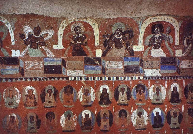 The Western Thousand Buddha Caves......