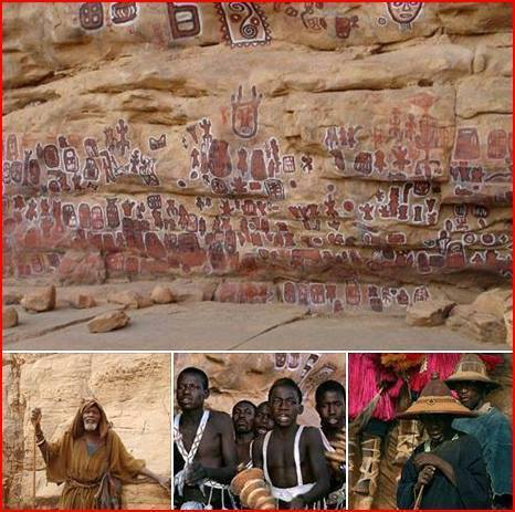 The Dogon Science  , Are a Direct Lineage from Kemet and Olmecs....
