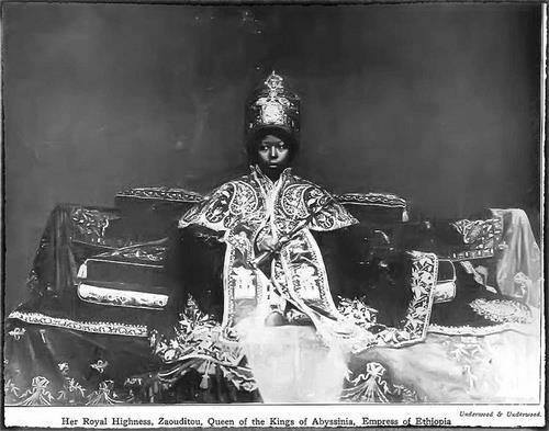 Queen Zaouditou, of Abyssinia