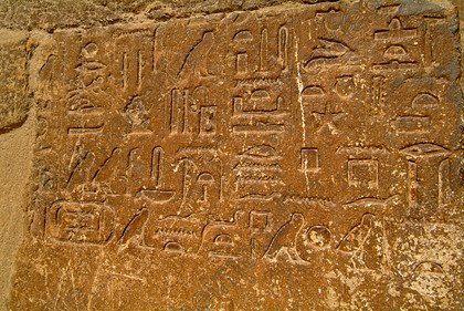 Hieroglyphs.....