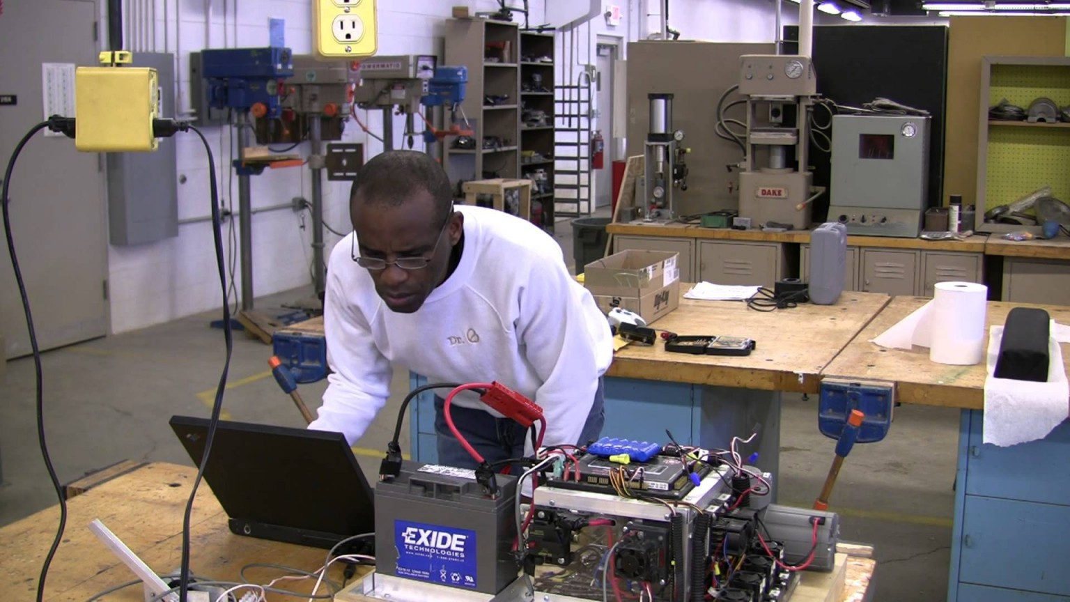 Nigerian Dr. Osatohanmwen Osemwengie, makes Drones for U.S.