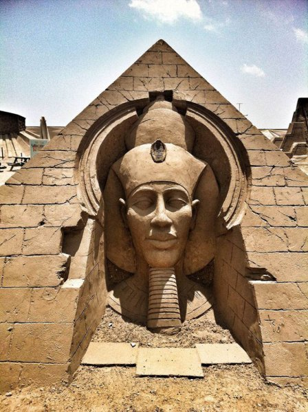 The Temple of Amenhotep IV.....