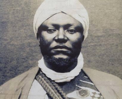 King Ibrahim Njoya........