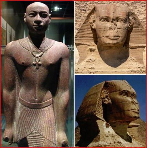 The Sphinx: ('Hwran Heru -makhet', 'Hor-em-Akht').....Math