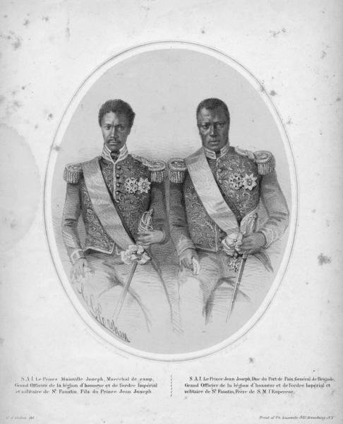 Prince Mainville Joesph and Jean Joseph