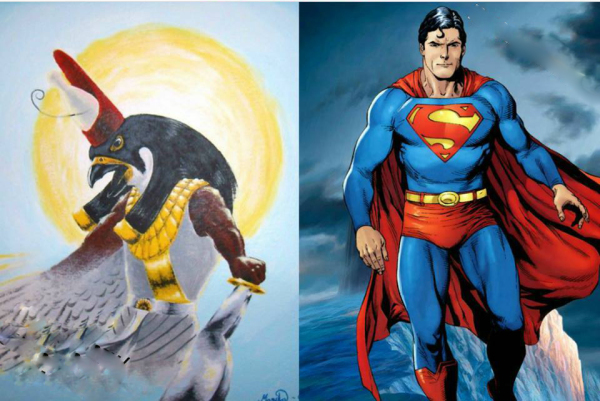 Superman Made from HERU......One by One Mathematics
