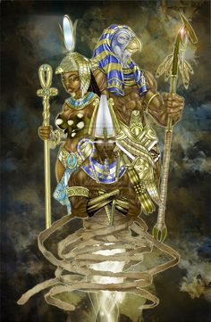 Kemet's God and Goddesses renamed in Identity by the Greeks and Romans.....The Mathematics