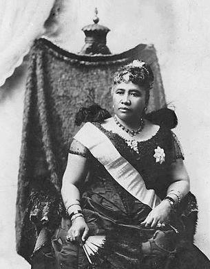 Queen Lydia Liliʻu Loloku Walania Wewehi Kamakaʻeha, of the Kingdom of Hawaii THE LAST QUEEN OF THE