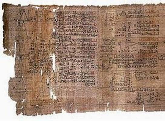Mathematical Papyrus (1650 BC)