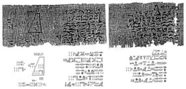"""Kemet Papyrus (8000 BC).....Mathematics"