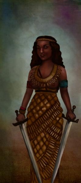 Queen Amanirenas....