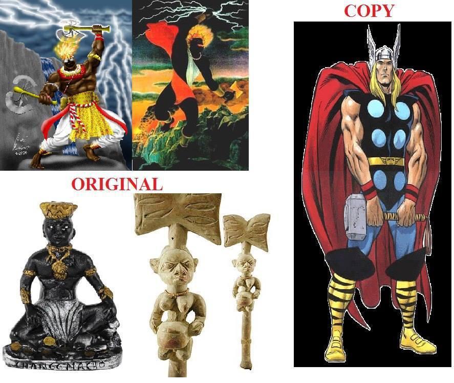 Shango the Original Thunder God...... The Original Thor