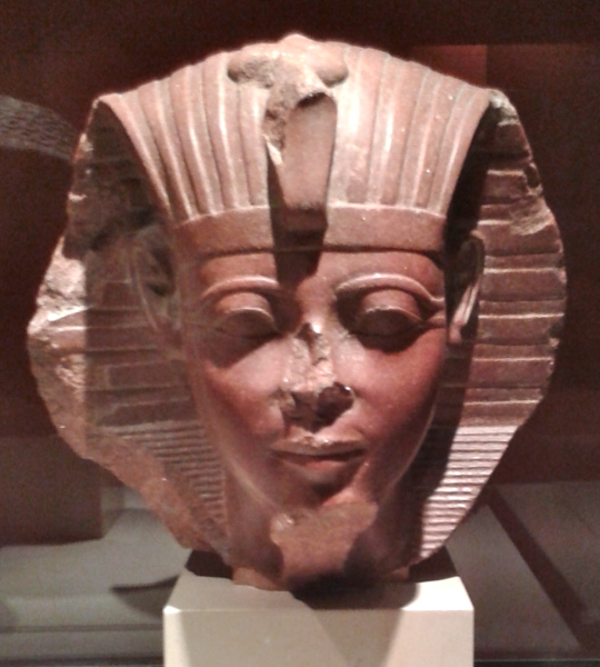 King Amenhotep II ......