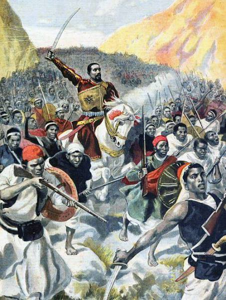 Battle of Adwa........The largest military triumph of an African state