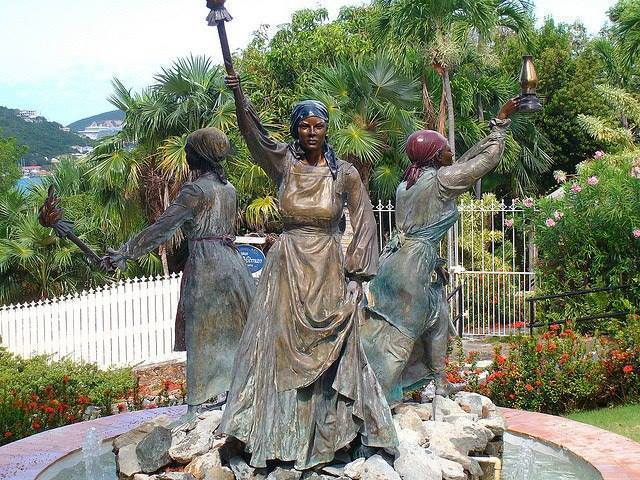 THE THREE QUEENS OF THE VIRGIN ISLANDS.