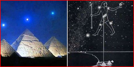 The Ancient Mathematics of Pyramids of Khofu, Khafra, and Menkaure........