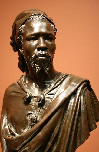 Bust of Said Abdullah, the Mayac, Kingdom of the Darfur