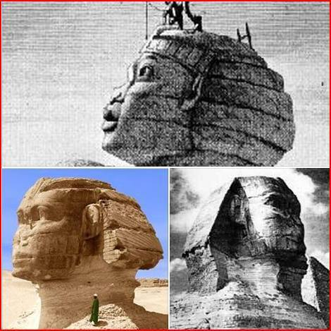 """Hwran Horemakhet"" ""Sphinx""...Who Really shot the Nose and Features? And Why? What does Sphinx Mean?"