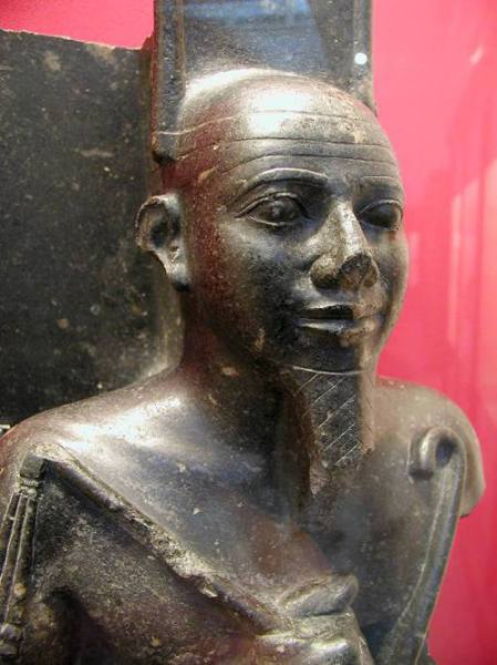 King Taharqa........