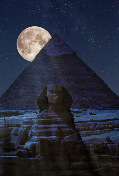 The Kemetic meaning of the Moon? What does the Moon Mean?