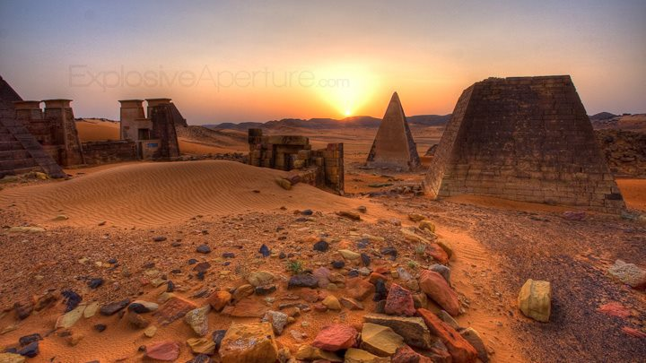 The Sudan....And the First Ancient Pyramids