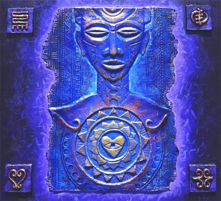 Nyame The Supreme Being....The Abosom Ashanti (Ghana)