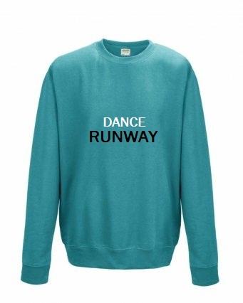 dance runway printed dancewear, logo sweatshirts,logo hoodies,printed dancewear
