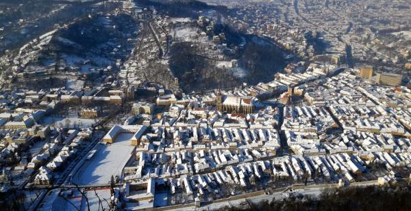 Romania, sightseeing, best places to visit in Romania, travel, Brasov, winter, Tampa, view