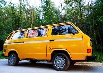 Converted camper van - Volkswagen T3