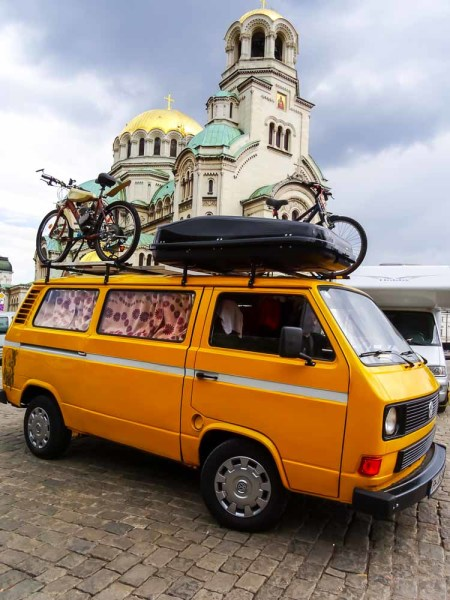 DIY Converted Volkswagen Van in Sofia