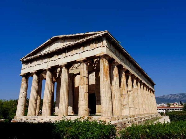 What to see in Athens - Temple of Hephestus