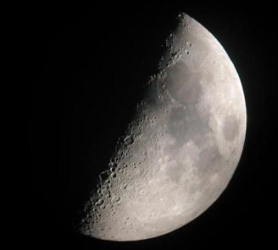 If the moon got stuck